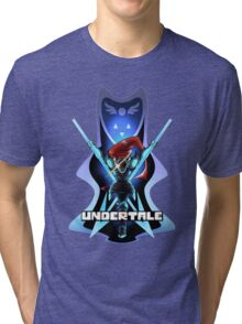 Undyne the Undying - Undertale Tri-blend T-Shirt