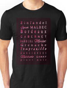 Red Wine Connossieur Unisex T-Shirt