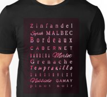 Red Wine Connossieur Unisex T-Shirt