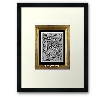 The Fur Day Framed Print