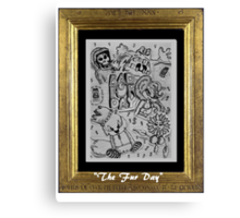 The Fur Day Canvas Print