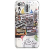 The Media Photomontage iPhone Case/Skin
