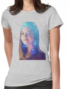 Clara who? Womens Fitted T-Shirt
