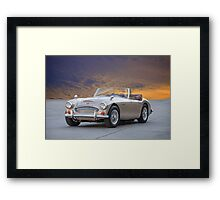 1966 Austin-Healey 3000 MKIII Roadster Framed Print