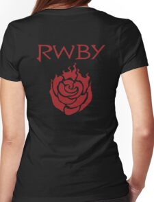 RWBY-Ruby Rose T-Shirt Womens Fitted T-Shirt