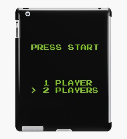 Press Start iPad Case/Skin