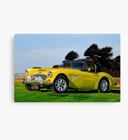 1965 Austin-Healey 3000 Mk III Roadster Canvas Print