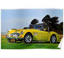 1965 Austin-Healey 3000 Mk III Roadster Poster