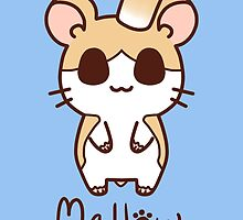 Sweet Treat Friends - Mallow the Hamster by OhSweetie