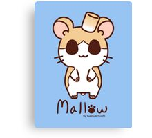 Sweet Treat Friends - Mallow the Hamster Canvas Print