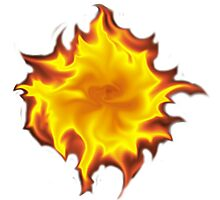 Fireball Photographic Print