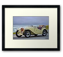 1948 MG TC Roadster II Framed Print
