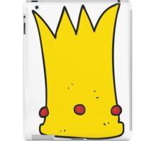 cartoon tall crown iPad Case/Skin