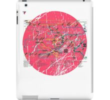 Tokyo Metro Map Japanese City Urban Style T-Shirt by Cyrca Originals iPad Case/Skin