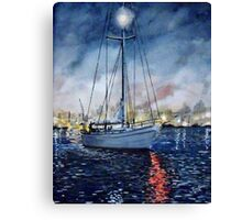 Newport Beach Harbor 4th of July Canvas Print