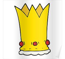 cartoon crown Poster