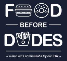Chris Crocker - Food Before Dudes Tee Baby Tee
