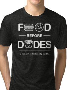 Chris Crocker - Food Before Dudes Tee Tri-blend T-Shirt
