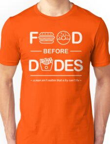 Chris Crocker - Food Before Dudes Tee Unisex T-Shirt