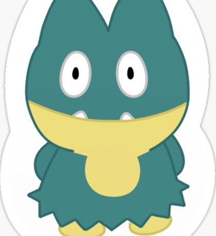 Munchlax Pokedoll Sticker