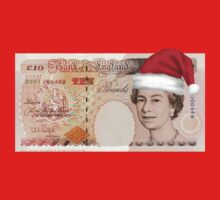£5 Note - Merry Christmas! One Piece - Short Sleeve