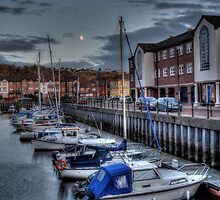 Moon & Marina  by Andrew Pounder