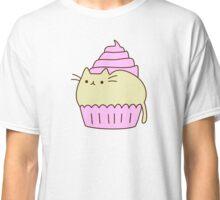Cute Kawaii Cupcake Cat Classic T-Shirt