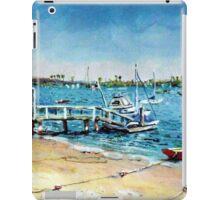 Newport Harbor  Balboa Island iPad Case/Skin