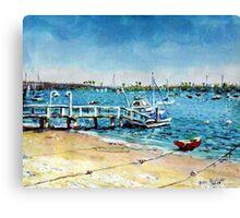 Newport Harbor  Balboa Island Canvas Print