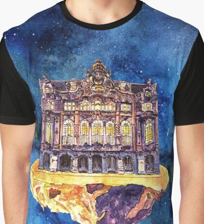 Central theatre, Dresden Graphic T-Shirt