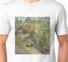 Japanese Tea Garden creek Unisex T-Shirt