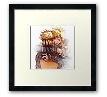 Naruto & Minato Framed Print