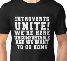 Introverts Unite! Unisex T-Shirt