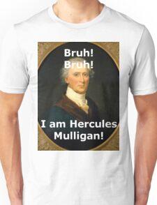 Funny Hercules Mulligan Portrait Unisex T-Shirt