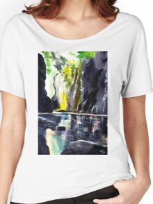 On The Rocks Women's Relaxed Fit T-Shirt