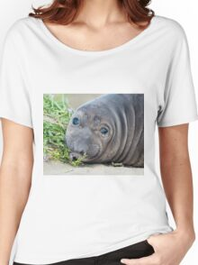 Northern Elephant Seal Pup Women's Relaxed Fit T-Shirt