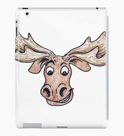 Silly Moose iPad Case/Skin