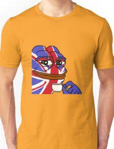 Rare Pepe - Brexit, British, Tea, Union Jack Unisex T-Shirt