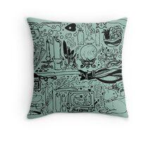Occult Throw Pillow