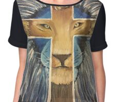 Lion of judah Chiffon Top