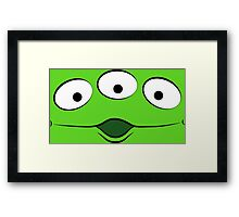 Toy Story Alien - Ohhhhh Framed Print