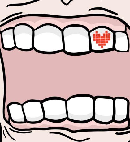 BADASS MOUTH Sticker