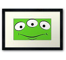 Toy Story Alien - Smirk Framed Print