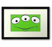 Toy Story Alien - Smirk Framed Print