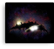 Transformers - Planetfall on Junk Canvas Print