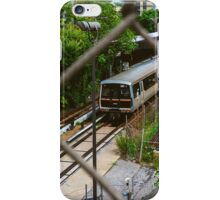 Marta Blue Line iPhone Case/Skin