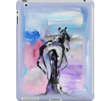 Strong - Pregnant Mare - Horse Art by Valentina Miletic iPad Case/Skin