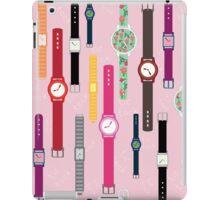 Watches iPad Case/Skin