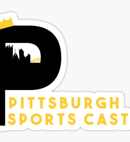 Pittsburgh Sports Castle  Sticker
