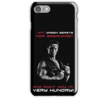 Commando - Design 2 - Green Berets iPhone Case/Skin